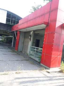 Dijual Bekas Bengkel/Gudang di Jl Raya Letda Natsir Bojongkulur