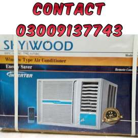 O.75 Ton SKYWOOD Inverter Window AC 220v Available