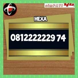 Nomor cantik simpati apik super Hexa