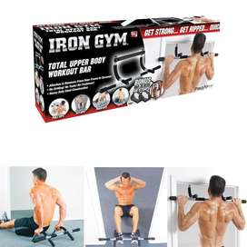 Iron Gym rod & Brand New Condition
