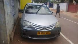 Toyota Etios 2013 Diesel 347000 Km Driven