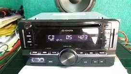 Dobeldin standar toyota avanza cd mp3 usb aux radio
