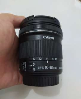 Lensa Canon 10-18M IS STM