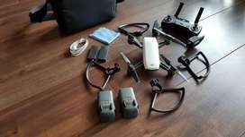 DJI spark drone fly more combo. Rarely used. Excellent condition