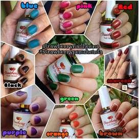 Kutex Strawberry nail henna