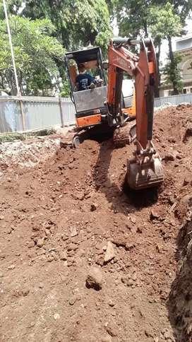 Sewa mini excavator pc50 pc75 100 200 rental becko breaker wales d2