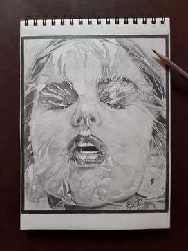 Make hand Sketch Drawing