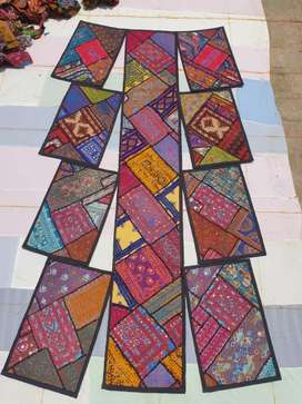New patchwork table runner and mats