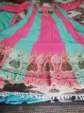 Bridal set or bridal lehanga for sale