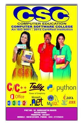 CSC Computer Education(P) Ltd., Padappai - Bazaar Road, (Since-1986)