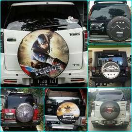 Sarung cover ban Rush Terios Taruna CR-V Touring Taft GT Feroza Jeep