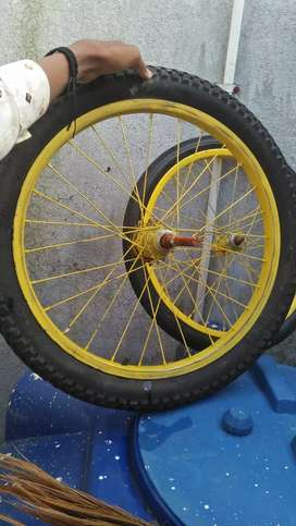 New tyre non use