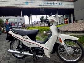 BU CPT Motor Antik suzuki crystal putih orisinil standar mulus