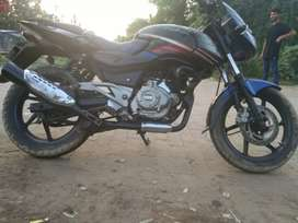 4 pulsar bikes and 1 Apache bike for sell.