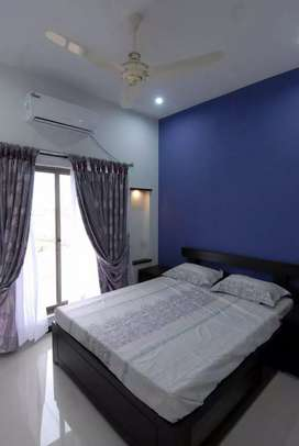 F11 fully furnished 2 bed during tv l for rent please contact for detl