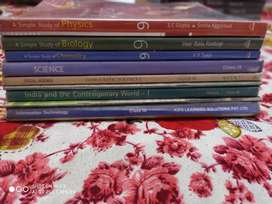 Some books for class 9th CBSE