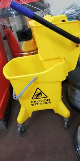 Cleaning Trollies Vacuum  Cleaner and Dustbin available here