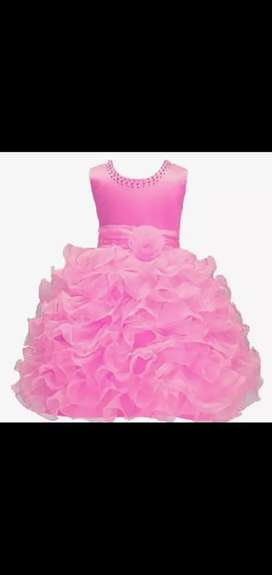 Baby gowns party dressed