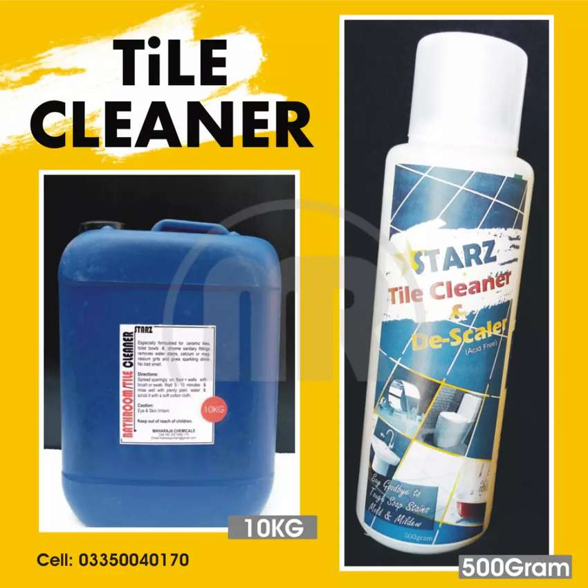 """""""HARD WATER SCALE CLEANER FOR TILES"""""""