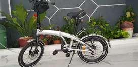 Sepeda Lipat Elemen Ecosmo Z9 Silver