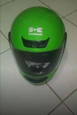Helm kawasaki Fullface