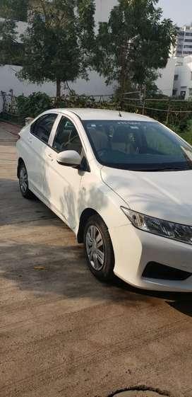 Honda City 2014 Diesel Good Condition, white color