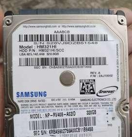 Hardisk Laptop Samsung 320GB Original