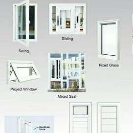 Kusen Pintu Jendela UPVC