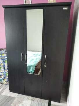 Style Spa wardrobe 3 door with mirror terminate proof