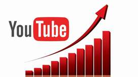 Youtube watchtime subscriber and more other services available..