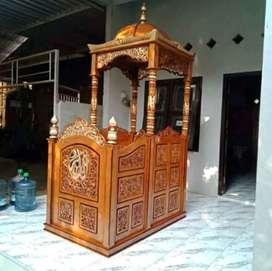 furnitur mimbar masjid