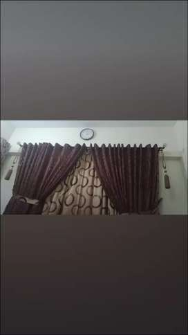 Fancy curtains for sale 6 month use only