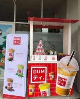 oper franchise DUM THAI TEA bisa dicicil 2bulan