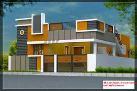 2BHK House sale in Trichy road Sulur Kannampalayam