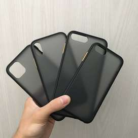 Hybrid Case black Iphone 6 sampai 11