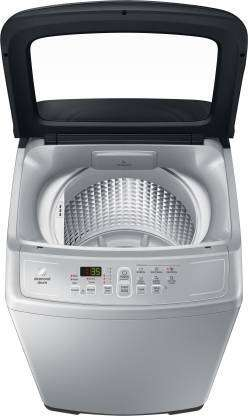 Samsung 6.5 kg Monsoon drying feature Fully Automatic Top Load Silver