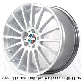 VIER L452 HSR R19X8-9 H5X112 ET45-54 HS