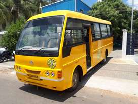 school bus eicher