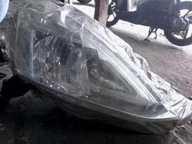 Sparepart mobil lampu depan all new livina