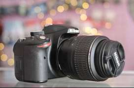 Kamera Dlsr Nikon D3200 Kit 18-55 VR