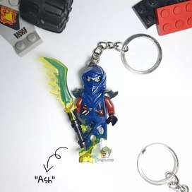 Gantungan Kunci Lego Ninjago Minifigure Ash