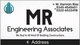 We deal in all kinds of construction buildings residence & commercial