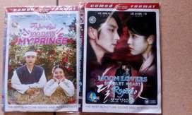 DVD Korea Moon lover & 100 days with prince