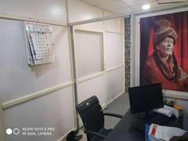 For rent 230 sqft. semi-furnished office space in mp nagar zone 1