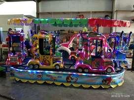 cv ilham jual odong odong truk fiber warna cerah mini coaster nego