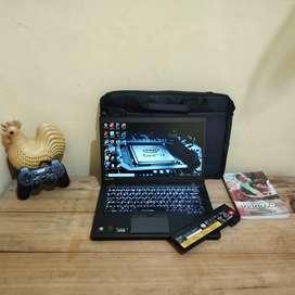 Laptop core i7 siap pakai