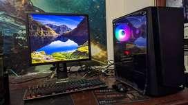 PC Komputer Editing,Gaming,Ilustrator Intel i7 Haswell VGA RX 570 4GB