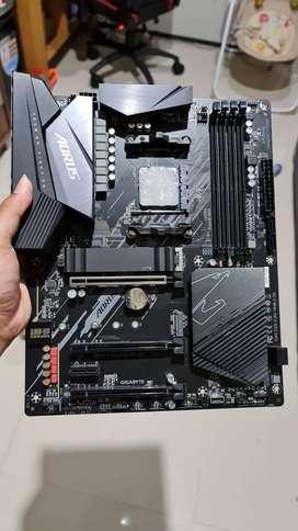 Paket AMD Ryzen 5 3600 + Gigabyte B550 Aorus Elite V2 like new