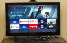 Samsung 32 inch full HD TV, with Amazon Fire Stick