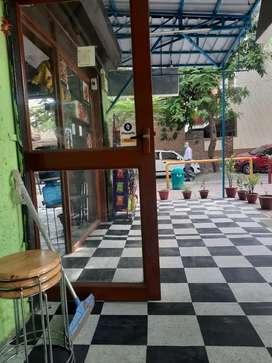 Fully running cafe